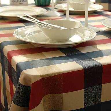 Klassisk polyesterfiber Kvadrat Duge Borddekorasjoner