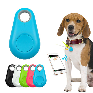 cheap Cat Beds & Carriers-Kids Cat Pets GPS Collar / GPS tracker Wallet Key Finder Mini GPS Wireless Smart Anti-Lost Electronic / Electric Solid Colored Plastic White Black 1pc