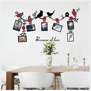 Dekorative Mur Klistermærker - Fly vægklistermærker Dyr / Blomstret / Botanisk Soverom / Barnerom