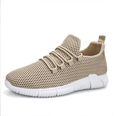 Ανδρικά Παπούτσια άνεσης Δίχτυ Φθινόπωρο / Ανοιξη καλοκαίρι Αθλητικά Παπούτσια Μαύρο / Λευκό / Κίτρινο