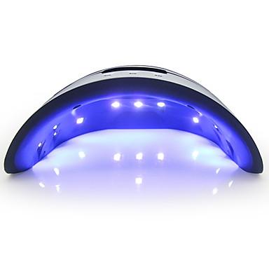 cheap Nail Tools & Equipments-In Stock 36W LED/UV Nail Dryer LCD Display Nail Lamp Gel Polish Lamp Automatic Sensor With Timing 30/60/99s Infrared Sensing Nail Lamp For All Gels Polish Nail Art Tools Fast Shipping
