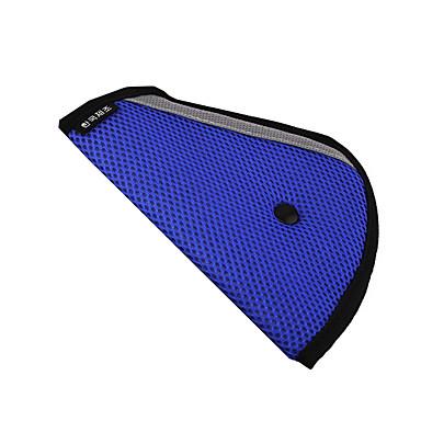 billige Interiørtilbehør til bilen-trekant barn setebelte justerbar bil sikkerhetsdeksel stropp fixer pad sele