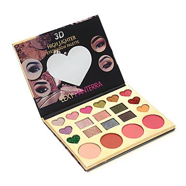 20 cores Sombra Sombra de olho Exterior Pró Fácil Uso Ultra Leve (UL) Profissional Maquiagem para o Dia A Dia Cosmético Dom