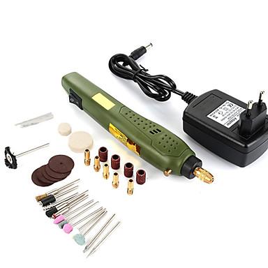 P500-11 Elektrisk grinder Multifunktion / Håndholdt design Vedboring / Stålboring / Polert metalloverflate