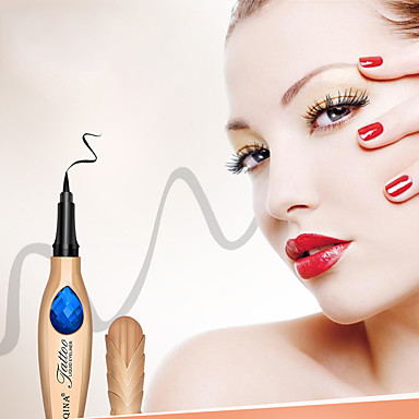 Lápis de Olho Feminino / Melhor qualidade / Fácil Uso Maquiagem Olhos / Cuidados Glamoroso & Dramático / Fashion Roupa Diária / Férias Maquiagem para o Dia A Dia Leve Normal Conveniência Cosmético