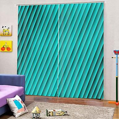 Venda quente baixo preço home decor impressão 3d cortinas de luxo blackout 100% poliéster tecido cortinas / escritório sala de estar