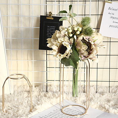 ηλιοτρόπιο ευρωπαϊκή sim προσομοίωση λουλούδι σπίτι διακόσμηση γάμος φορητό τοίχο εργοστάσιο τοίχο ψεύτικο λουλούδι 1 υποκατάστημα 3 κεφάλια