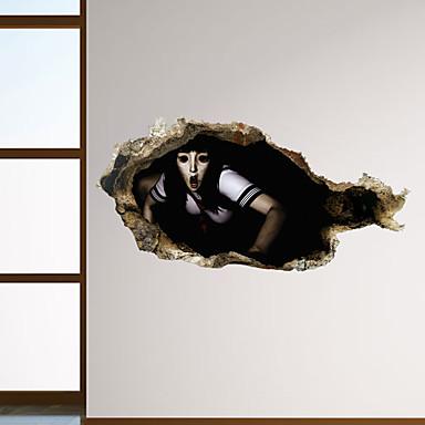Αποκριές αυτοκόλλητα τοίχων ζόμπι φρίκης - λέξεις&ampampamp εισαγωγικά αυτοκόλλητα τοίχου χαρακτήρες μελέτη αίθουσα / γραφείο / τραπεζαρία / κουζίνα