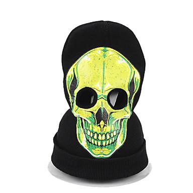 Yiwu pby_01wa Αποκριές κρανίο φρίκης πλεκτό μάσκα φάντασμα καλύμματος κεφαλής Cosplay καπέλο spoof Νο. 1