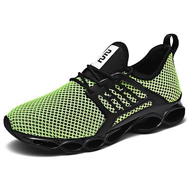 preiswerte Schuhe und Taschen-Herrn Komfort Schuhe PU Frühling / Herbst Sportschuhe Schwarz / Grün / Beige