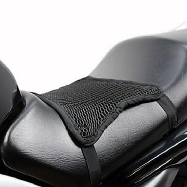 billige Interiørtilbehør til bilen-3d-nett kjølig sete dekker pute varme solkrem pustende solbeskyttelsespute motorsykkel universal