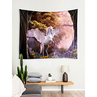cheap Wall Tapestries-Fairytale Theme Wall Decor 100% Polyester Modern Wall Art, Wall Tapestries Decoration