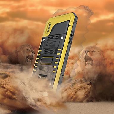 povoljno iPhone maske-Θήκη Za Apple iPhone XS / iPhone XR / iPhone XS Max Vodootporno / Otporno na trešnju Korice Oklop Tvrdo Metal