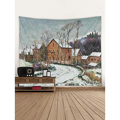 Klassisk Tema Veggdekor 100% Polyester Klassisk Veggkunst, Veggtepper Dekorasjon