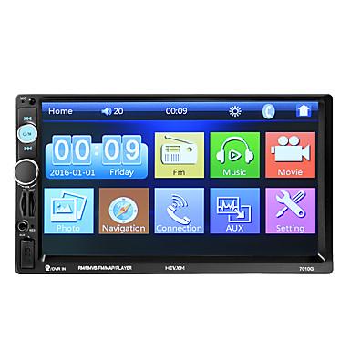 7 ιντσών 2 αυτοκίνητο GPS navigator οθόνη αφής / gps / ενσωματωμένο bluetooth για την καθολική υποστήριξη bluetooth wmv / rm / rmvb mp3 / wma / wav jpeg / αυτοκίνητο GPS navigator /