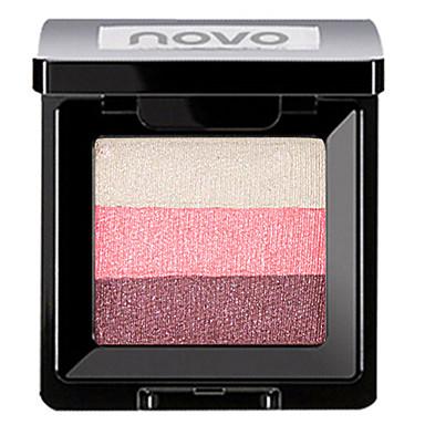 3 cores Sombra Mate Sombra de olho Pró Fácil Uso Profissional Maquiagem para o Dia A Dia Cosmético Dom