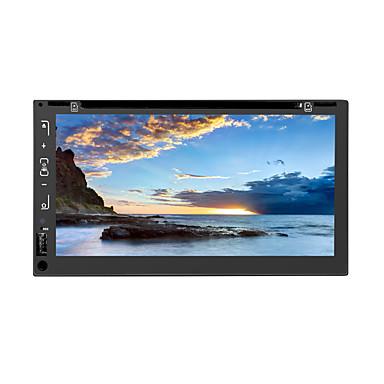levne Auto Elektronika-litbest 6605 6,95 palce 2 din android in-dash auto dvd přehrávač / auto gps navigátor dotyková obrazovka / gps / vestavěný bluetooth pro univerzální podporu Bluetooth mov / rm atd.