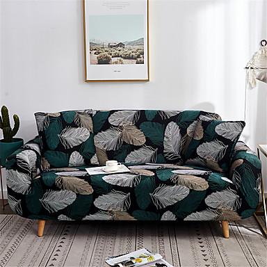 Sofatrekk Romantik Garn Bleket Polyester / bomullsblanding slipcovere