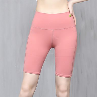 Roupas Esportivas Yoga Mulheres Treino / Espetáculo Elastano / Náilon Chinês Combinação / Elástico Calças