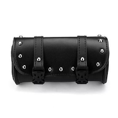 levne Organizéry do auta-motocyklové přední vidlice nářadí sedlové vaky pouzdro zavazadla černá kůže pro harley-
