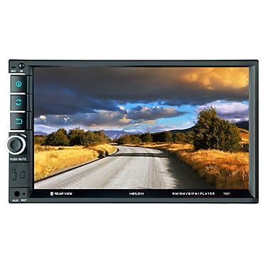 7 ιντσών 2 αυτοκίνητο mp5 player οθόνη αφής / ενσωματωμένο bluetooth / sd / usb υποστήριξη για την καθολική υποστήριξη bluetooth wmv / rm / rmvb mp3 jpeg / τύπου αυτοκίνητο mp5 player / μοντέλο mp5-79