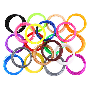 preiswerte 3D-Drucker-myriwell pla 1.75mm filament 10colors 5m zufällige farbe ausgewählt 3d gedruckt pla 1.75mm 3d stift kunststoff 3d drucker filament 3d stifte umweltsicherheit