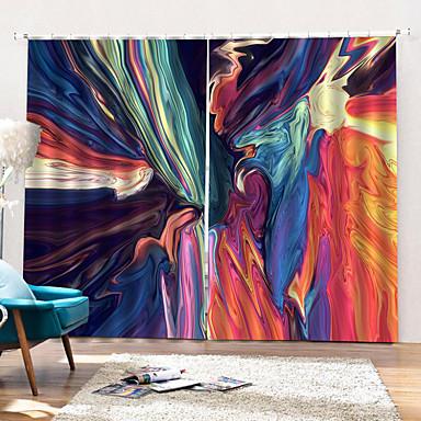 varm utenrikshandel fargerik element innendørs hjem stil dusj gardin 3d kunsttrykk tykk høy kvalitet