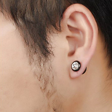 Imitation Diamond, Men's Earrings, Search LightInTheBox