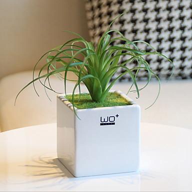 Kunstige blomster 1 Gren Klassisk Moderne Moderne Evige blomster Vase Bordblomst