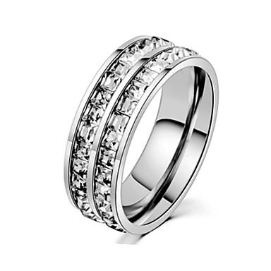 Ανδρικά Band Ring Δαχτυλίδι Δαχτυλίδι ουράς 1pc Ασημί Χρυσό Τριανταφυλλί Ανοξείδωτο Ατσάλι Τιτάνιο Ατσάλι Κυκλικό Βασικό Μοντέρνα Δώρο Καθημερινά Κοσμήματα Απίθανο