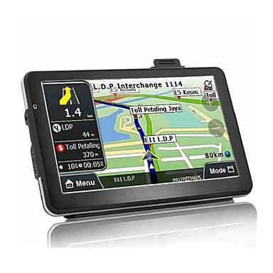 levne Auto Elektronika-7 palcový android quad core 16gb auto gps navigace sat navigátor av-in bluetooth wifi fm vysílač svazek mapy zdarma