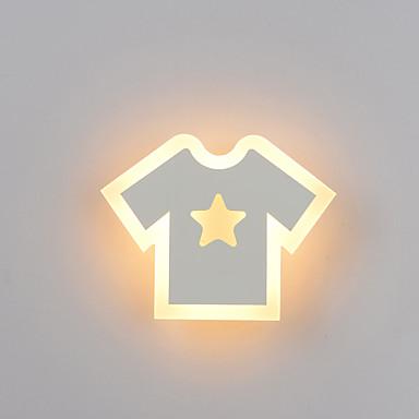 οδήγησε τοίχο στοίβα σύγχρονη σύγχρονη flush τοίχο φώτα παιδιά δωμάτιο / κορίτσια δωμάτιο μεταλλικό τοίχο φως