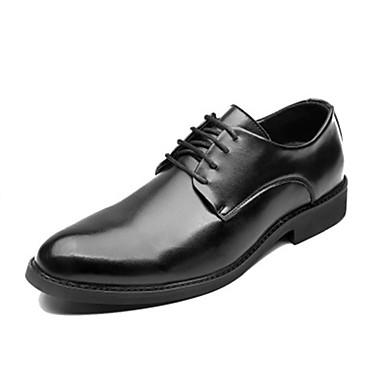 Ανδρικά Τα επίσημα παπούτσια Δερμάτινο Φθινόπωρο / Ανοιξη καλοκαίρι Oxfords Μαύρο / Καφέ / Παπούτσια άνεσης