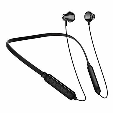 LITBest JDE120 Fone de ouvido com pescoço Sem Fio EARBUD Bluetooth 5.0 Cancelamento de Ruído Estéreo IPX7 à prova d'água