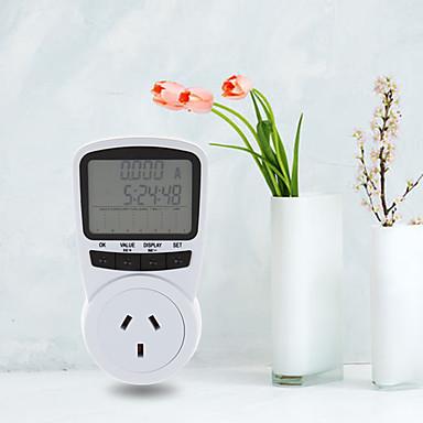 ts-1500 elektronisk energimåler lcd energimonitor plug-in elektrisitetsmåler for eu plug monitor elektronisk energi