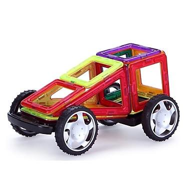 preiswerte Magnetische Bauklötze-Magnetische Fliesen 89 pcs Geometrische Muster 3D Zeichentrick Eltern-Kind-Interaktion Alles Spielzeuge Geschenk