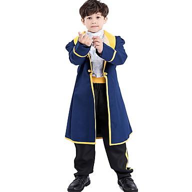 povoljno Odjeća i obuća za ples-Mitologija Kostim Dječaci Tema bajka Halloween Seksi blagdanski kostimi Cosplay nošnje Tematska zabava Kostimi Dječaci Dječja plesna odjeća Poliester Kombinacija materijala