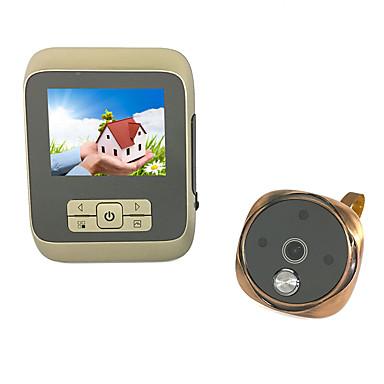3,5 ιντσών υψηλής ευκρίνειας οπτική ηλεκτρονική πόρτα οθόνη γάτα οθόνη για κάλυψη βρόχου βιντεοκάμερα