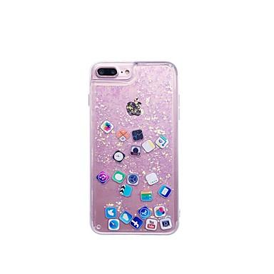povoljno iPhone maske-Θήκη Za Apple iPhone XS / iPhone XR / iPhone XS Max S tekućinom Stražnja maska Igra s Appleovim logom Mekano TPU