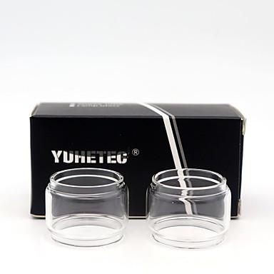 Yuhetec γυαλί σωλήνα αντικατάσταση λαμπτήρα για φίδι ανυψώστε RTA 4,5ml 2pcs