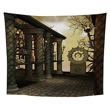 Blomster Tema / Klassisk Tema Veggdekor polyester Middelhavet / Moderne Veggkunst, Veggtepper Dekorasjon