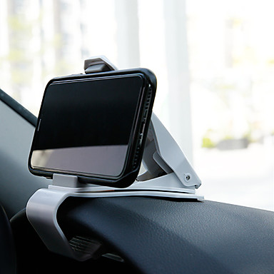billige Interiørtilbehør til bilen-Mobiltelefonholder GPS Navigasjons dashbord Telefonholder til universell mobilholderholder