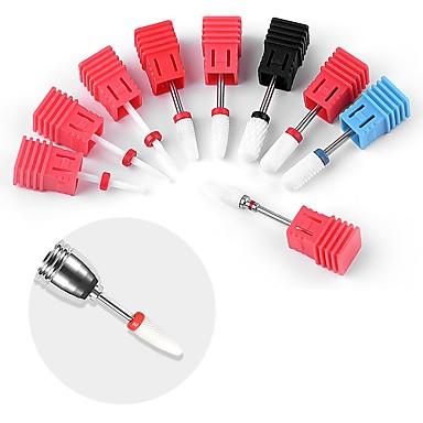 levne Náčiní a vybavení-1pc keramické hřebíky vrtací vrták na nehty elektrické nářadí pro manikúru pedikúru nail art příslušenství nástroje odstranit lak na nehty \ t