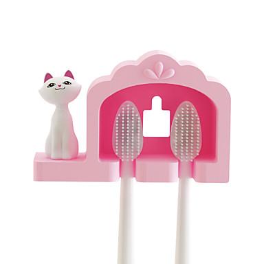 Titular Toothbruh Impermeável / Desenho Animado / Fofo Desenho Plástico 1pç - Ferramentas Escova de Dentes e Acessórios