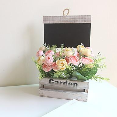 Ψεύτικα λουλούδια 5 Κλαδί Κλασσικό Σύγχρονη Σύγχρονη Αιώνια Λουλούδια Λουλούδι για Τραπέζι