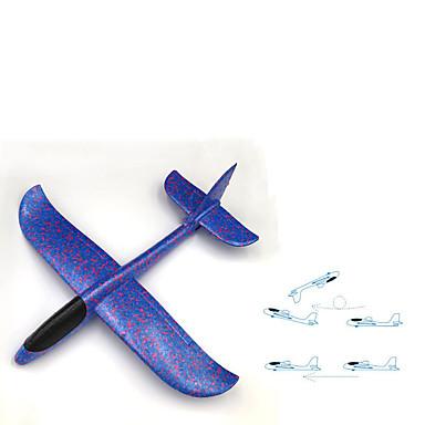 efeitos especiais double-hole mão jogando aeronaves epp espuma aeronaves whirling jogando aeronaves luminosas