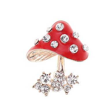 voordelige Dames Sieraden-Dames Broches Paddestoel Stijlvol Broche Sieraden Gouden Voor Dagelijks