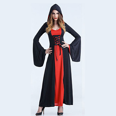 Inspirado por Rosario and Vampire Vampire Dracula Anime Fantasias de Cosplay Japanês Ternos de Cosplay Vestido / Chapéu Para Mulheres