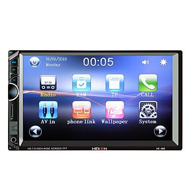 levne Auto Elektronika-hevxm 888 7 palce 2 din car mp5 přehrávač dotyková obrazovka / vestavěný bluetooth / rádio pro univerzální podporu Bluetooth rm / rmvb / mp4 mp3 / wav jpg / vysoká kvalita s konkurenční cenou