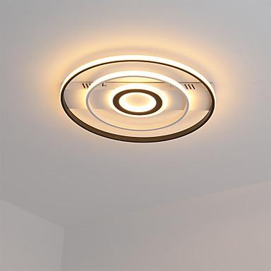 Γραμμική Φωτιστικά Χωνευτής Εγκατάστασης Ατμοσφαιρικός Φωτισμός Βαμμένα τελειώματα Μέταλλο LED 110-120 V / 220-240 V Θερμό Λευκό / Ψυχρό λευκό
